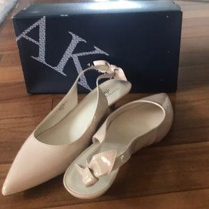 Anne Klein sling back shoes
